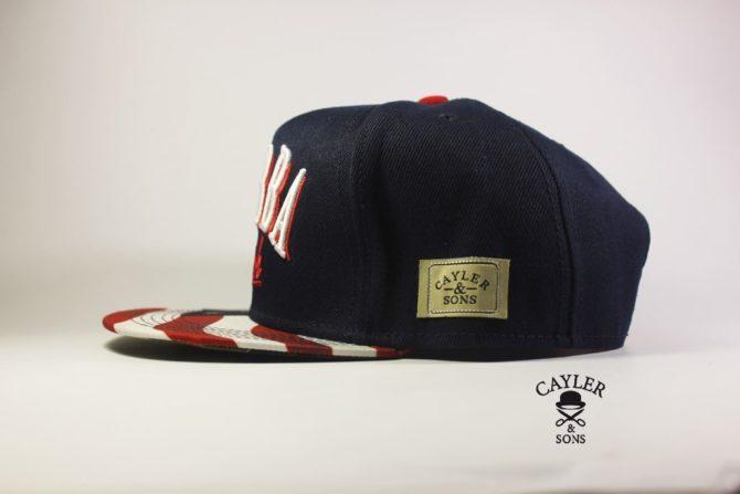 Cayler and Sons Bubba Kush AMERICA USA кепки с американским флагом