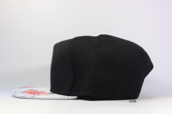 цветы на козырьке черная кепка CAYLER SONS оригинал купить Украина