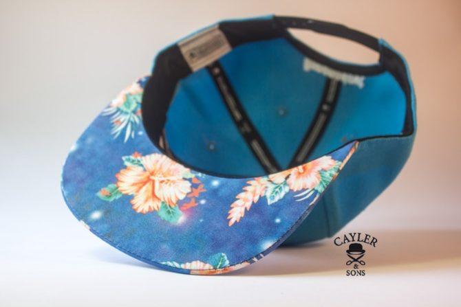 snapback cayler and sons гавайская голубая кепка