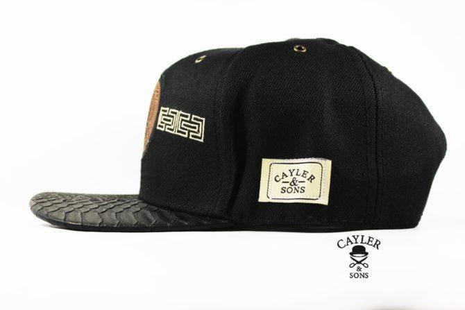 кепка с кожаным козырьком кепка snapback Cayler Sons versace медуза гаргона