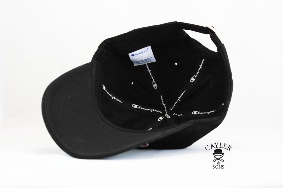 Кепка бейсболка Champion black — Cayler And Sons Украина bfb9b51c007e0