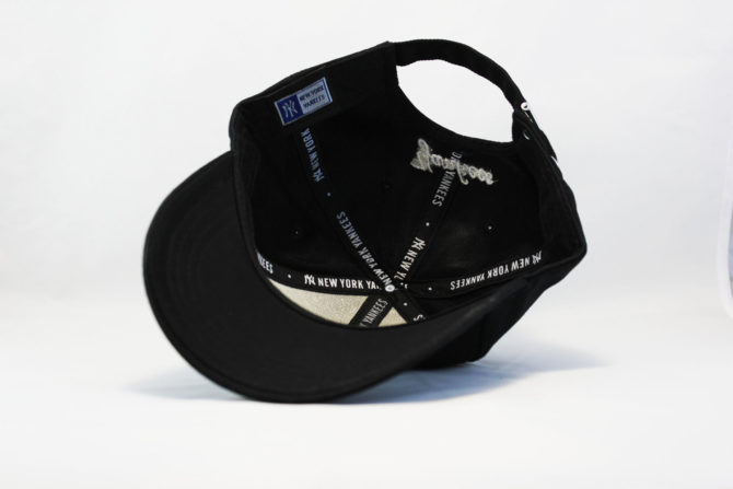 круглый козырек кепка бейсболка YANKEES NY Logo New Era логотип сбоку