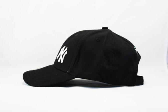 закругленный козырек кепка бейсболка YANKEES NY Logo New Era логотип сбоку
