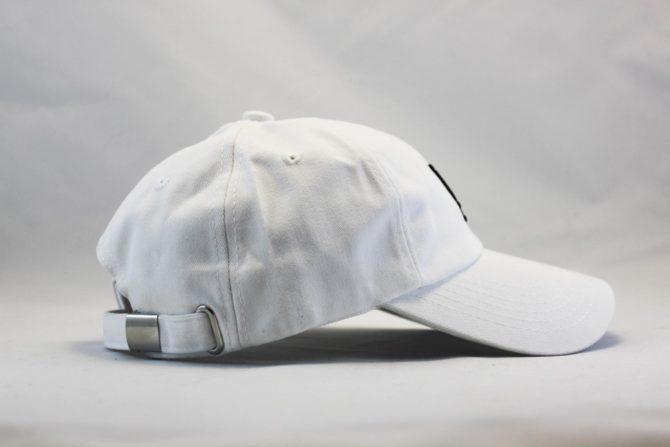 круглый козырек кепка бейсболка LA белая Los Angeles white
