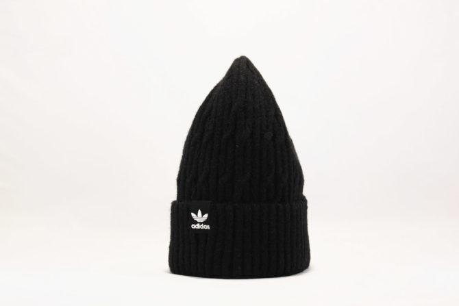 адидас одежда оригинал шапка beanie ADIDAS ORIGINALS черная купить