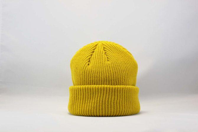 шапка beanie MONATIK ASOS желтая yellow купить Украина