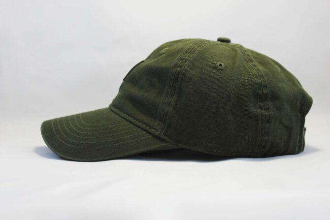 темно-зеленый снепбек кепка бейсболка Carhartt green зеоеная кожаный козырек