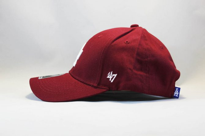 47 brand купить Украина кепка бейсболка LA Los Angeles 47 New Era бордовая