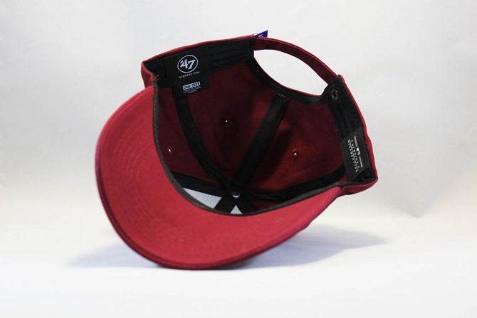 где купить оригинальную кепка бейсболка LA Los Angeles 47 New Era бордовая