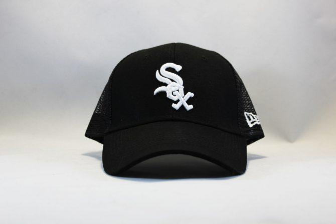 кепка trucker Chicago White Sox New Era черная сетка