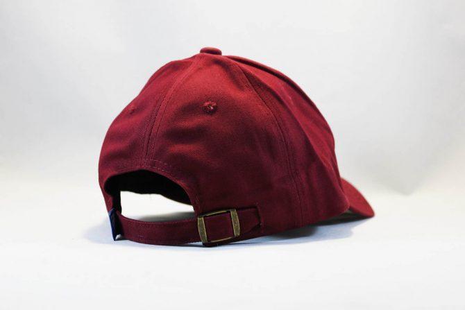 красная летняя кепка бейсболка LA Los Angeles 47 New Era бордовая