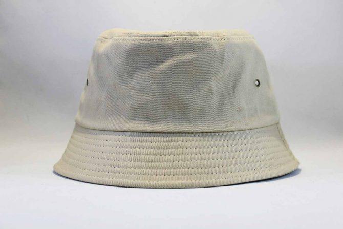 короткий обод панама Carhartt бежевая кожаный логотип купить