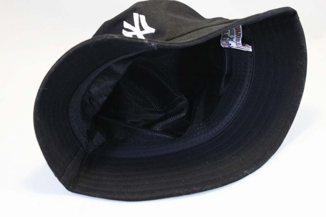 янкис головной убор панама черная New York NY Yankees New Era