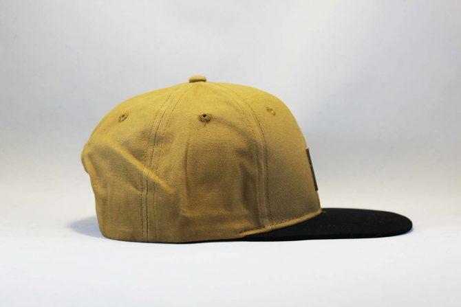 Carhartt магазин Украина кепка Snapback Carhartt коричневая с кожаным логотипом