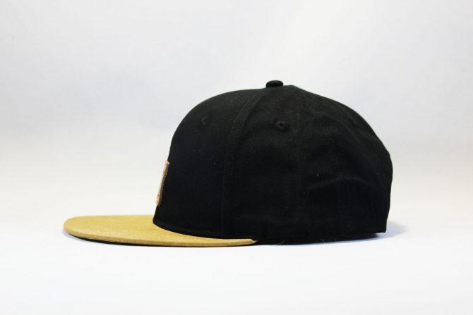 кархарт украина кепка snapback Carhartt черно-коричневая с кожаным логотипом