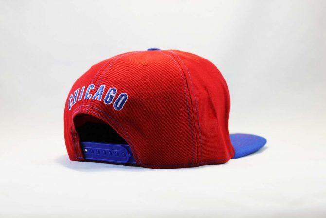черно-серая кепка snapback Chicago Cubs New Era бейсбольная