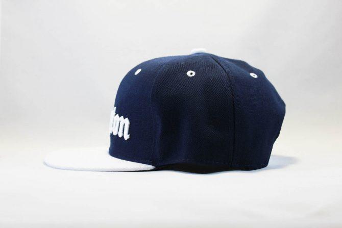 комптон бейсболка кепка Snapback Compton New Era Синяя с белым